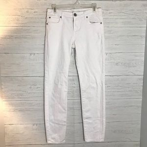 KUT from the KLOTH WHITE JEANS
